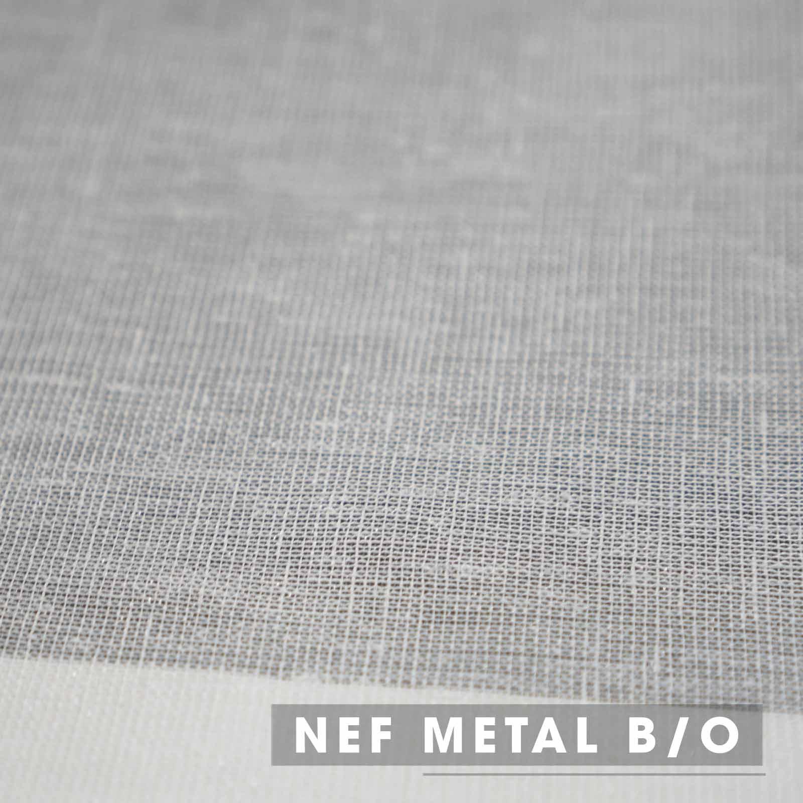 Vải Rèm Voan Nef Metal B/O
