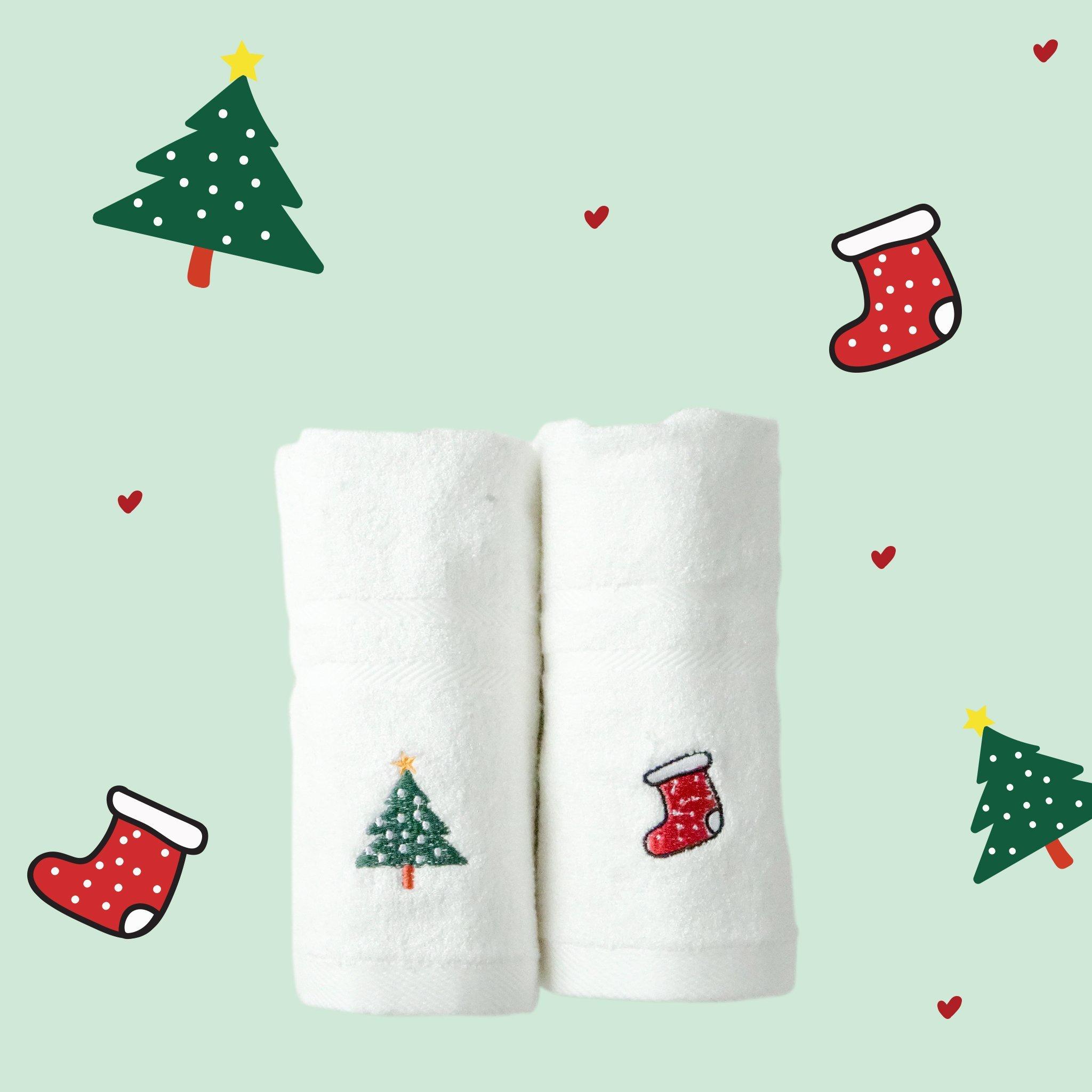 [PRE-ORDER] Khăn thêu Christmas