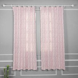 Rèm may sẵn Pink Rosy - EDHA005-1