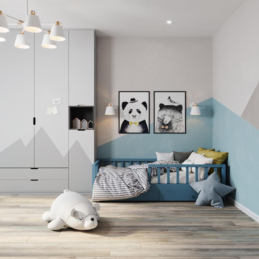 30+ Mẫu thiết kế nội thất phòng ngủ cho trẻ từ sơ sinh